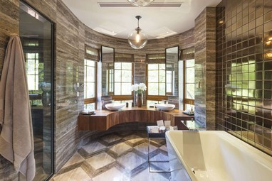 Luxury Rustic Bathroom Design
