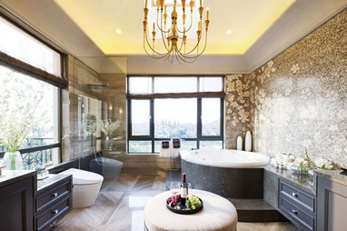 Contemporary Luxury Bathroom Design
